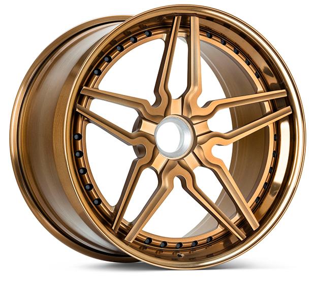 HC-2-3P-Matte Brickell Bronze