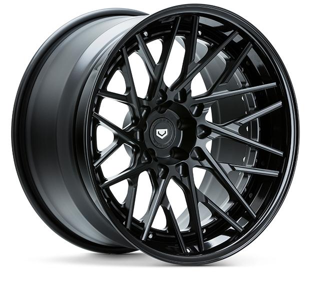 S17 07 3P Satin Black