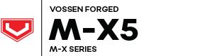 Vossen Forged MX-5 logo