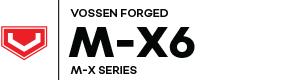 Vossen Forged M-X6 logo