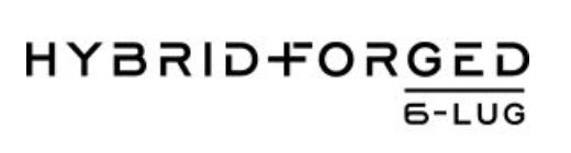 Hybrid Forged 6 lug logo